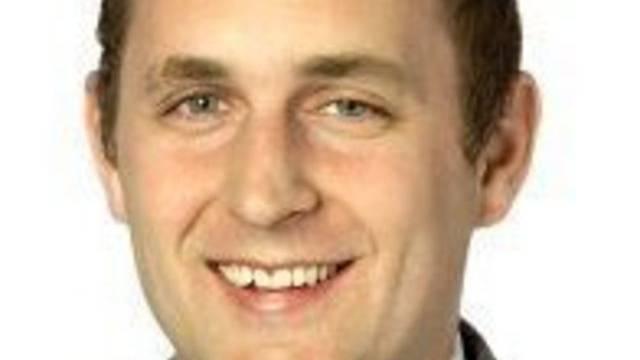 Der Zürcher SVP-Kantonsrat Claudio Schmid.