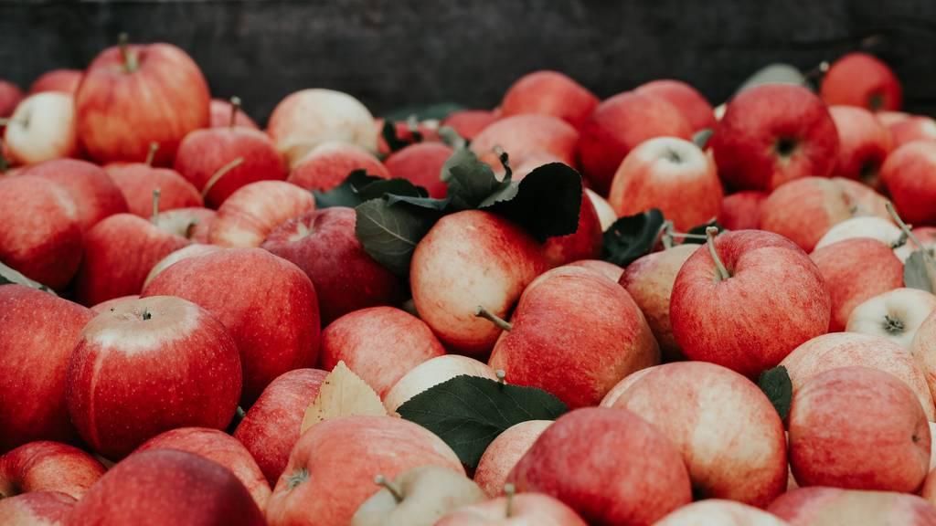 Äpfel im Überfluss