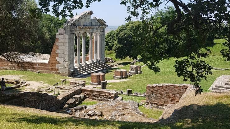 <p>Ruinenstätte Apollonia.</p>