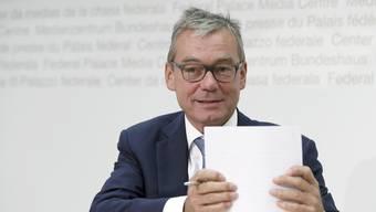Ruedi Noser (FDP) kandidiert wieder für den Ständerat. (Archiv)