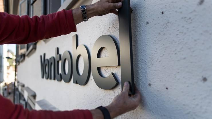 Das Logo der Bank Vontobel verschwindet aus Olten. (Archiv)