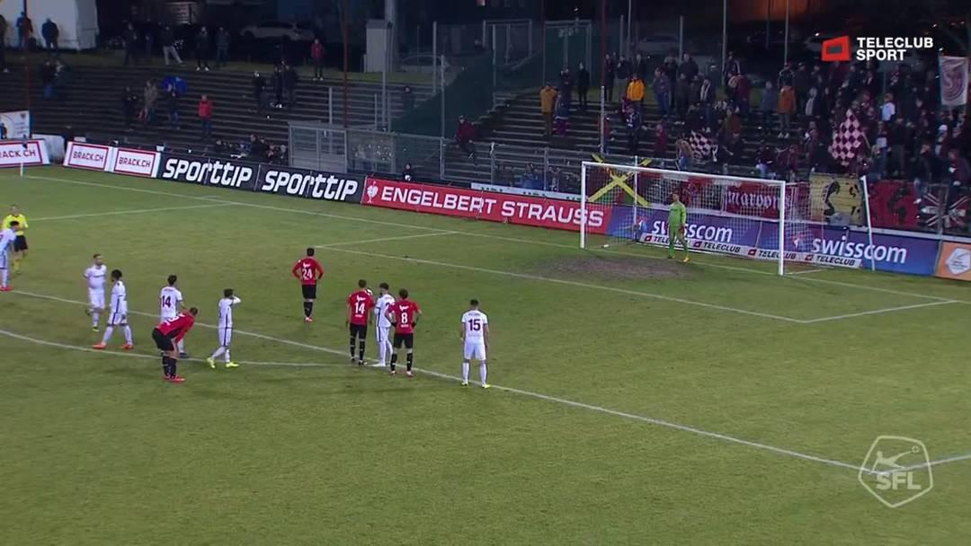 Challenge League 18/19 Runde 23: FC Aarau - Servette FC 1.3.19 - 3:3  FC Aarau