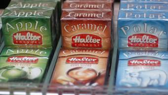 Die bekannten Halter Bonbons könnten bald verschwinden. Der Mutterkonzern Hunziker möchte das Sortiment überdenken.