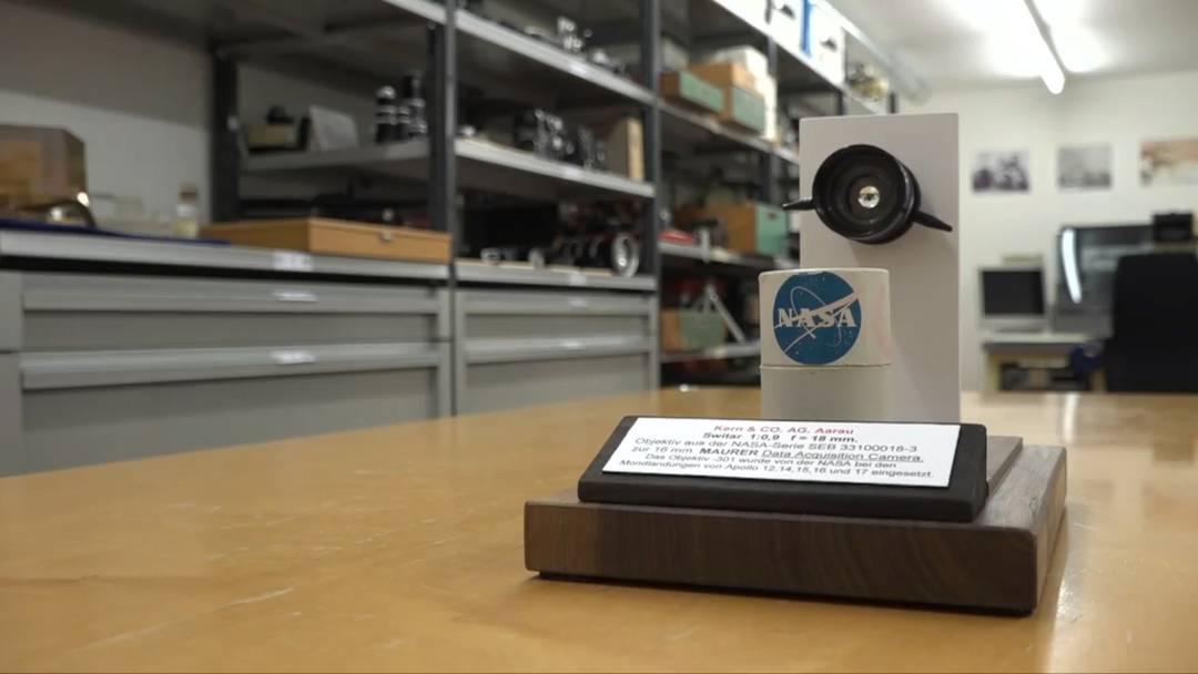 Schweizer Optik half bei der Generalprobe für die Mondlandung