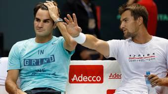 Gute Freunde: Marco Chiudinelli hat mit dem 20-fachen Grand-Slam-Sieger Roger Federer viel erlebt.