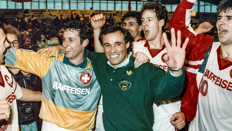 Ein bekannter Name in der Schweizer Handball-Szene: 1998 war Arno Ehret Coach der Schweizer Nationalmannschaft, nun übernimmt er die Kadetten Schaffhausen