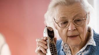 Ältere Leute sind meist Opfer der Trickbetrüger.