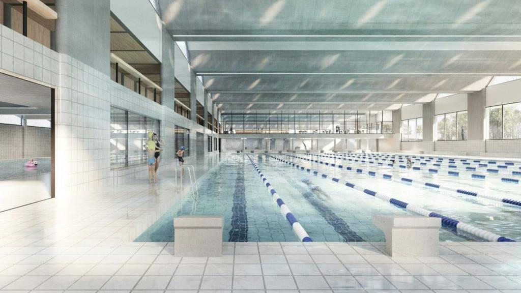 Stadt Bern sagt Ja zu neuer 50-Meter-Schwimmhalle