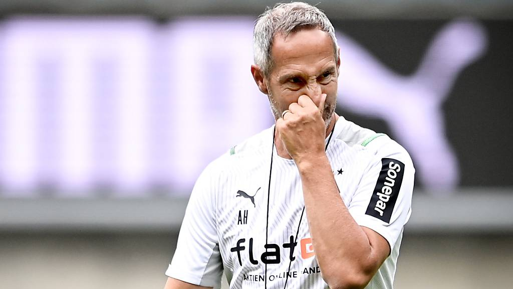 Mit Eintracht Frankfurt verlor er das erste Cupspiel gegen einen Unterklassigen, mit Gladbach machte er es besser: der neue Coach Adi Hütter