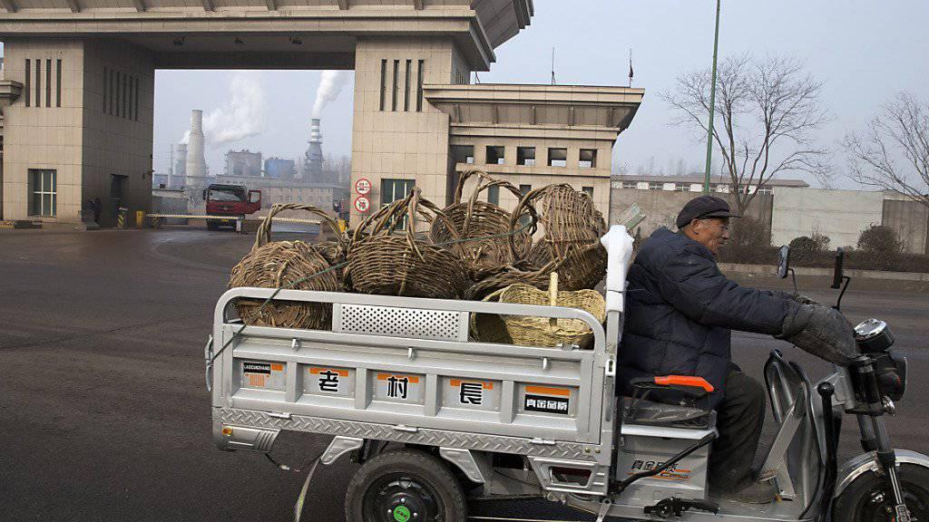 Chinas Wirtschaft hat sich besser entwickelt als erwartet. Auch für das laufende Jahr sind Ökonomen zuversichtlich. (Symbol)