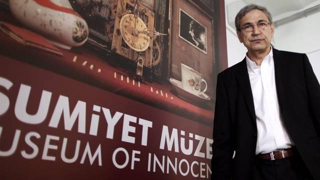 """Autor Pamuk im """"Museum der Unschuld"""""""