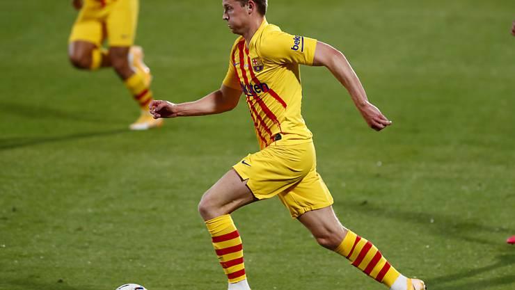 Sogar bis 2026 bleibt Frenkie de Jong beim FC Barcelona