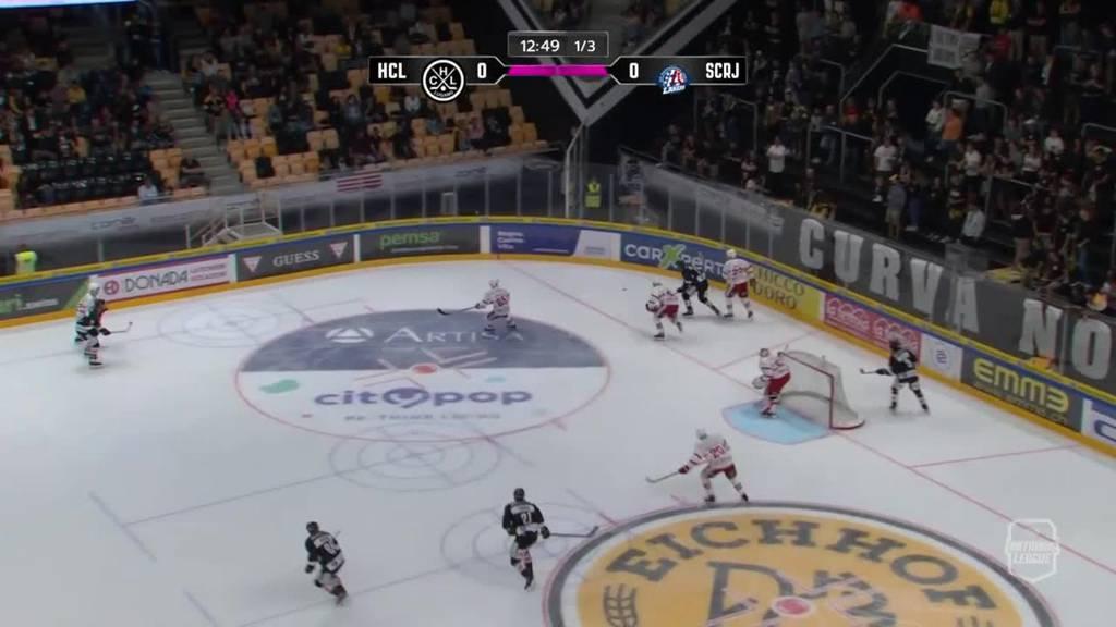 2:0 - Lugano besiegt die Rapperswil-Jona Lakers