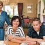Die letzten Welschenrohrer Gastrounternehmer: (v.l.) Colette Rieder, Mirjam und Peter Läuffer.