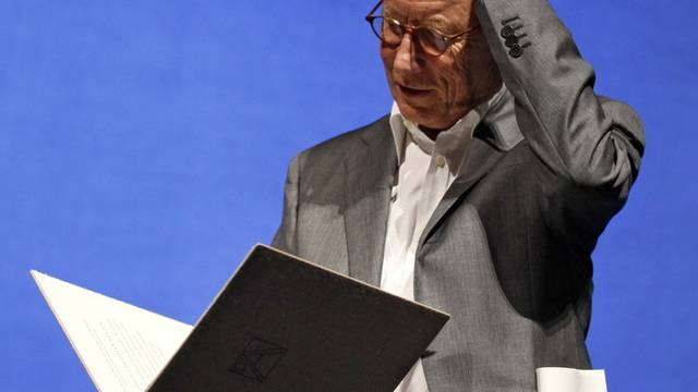 Der Schriftsteller Friedrich Christian Delius wird mit dem 60. Georg-Büchner-Preis ausgezeichnet