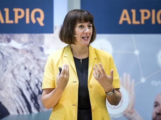 Jasmin Staiblin gibt den Chefposten bei Alpiq ab.