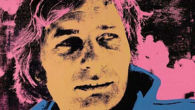 Ein Warhol-Porträt von Gunter Sachs (Archiv)