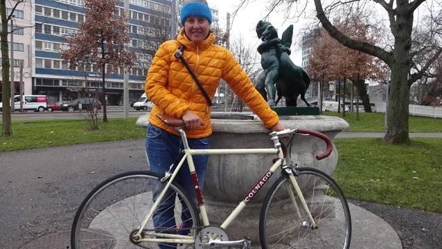 Einzig Mittel zum Zweck: Nathalie Schneitters Wohnsitz in Basel.