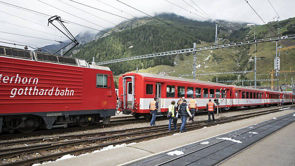 Endstation Andermatt: Ein Schüler verpasst wegen des Bahnunfalls das Klassenlager.