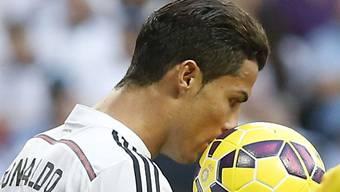 Eins mit dem Ball: Cristiano Ronaldo