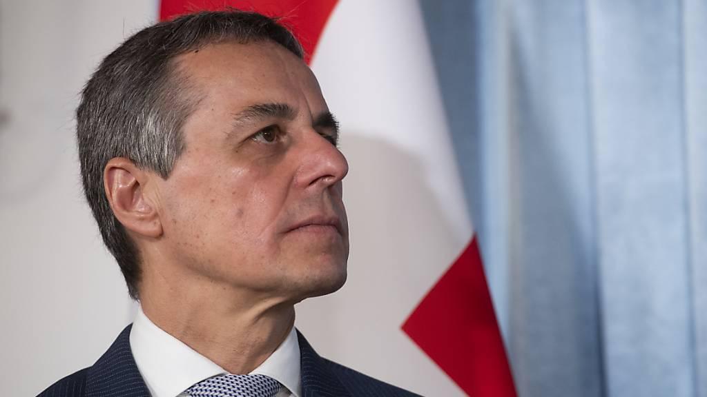 Aussenminister Cassis will selbstbewusstere Schweiz