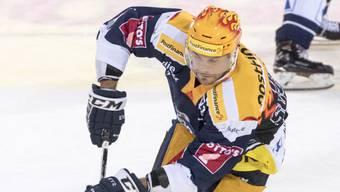 Krönte kämpferische Zuger Leistung im Penaltyschiessen: Viktor Stalberg