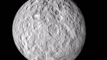 Der Zwergplanet Ceres ist mit seinem Eisvulkanismus ein einzigartiger Sonderfall: Das Phänomen tritt sonst nur im äusseren Sonnensystem auf. (Nasa)
