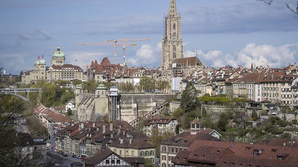 Als Bundesstadt erhält Bern rund 1 Million Franken an Kultursubventionen vom Bund. Diese Bundesmillion soll nun gestrichen werden. (Archivbild)