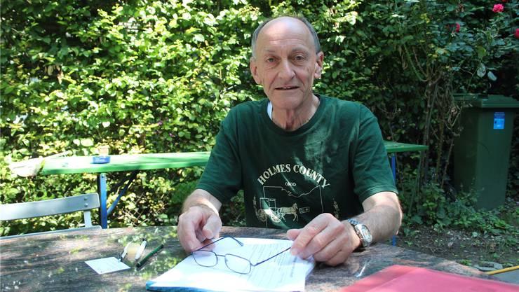 «Wir halten an der Forderung nach mehr Ruhe und Orndung nach Mitternacht fest.» Bruno Nüsperli, Präsident Verein Altstadtbewohner