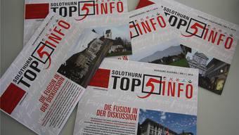 Fusionieren scheint momentan beliebt zu sein (ausser in den Gemeinden Biberist, Luterbach und Derendingen natürlich).