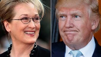 Meryl Streep schoss gegen Donald Trump – dieser reagierte entnervt.