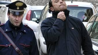 Unglücks-Kapitän Francesco Schettino (rechts, Archiv)