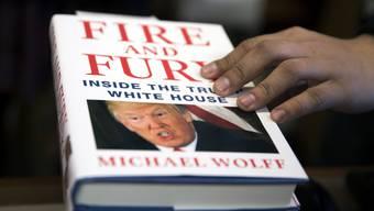 «Fire and Fury»: Donald Trump konnte das Buch nicht verhindern.