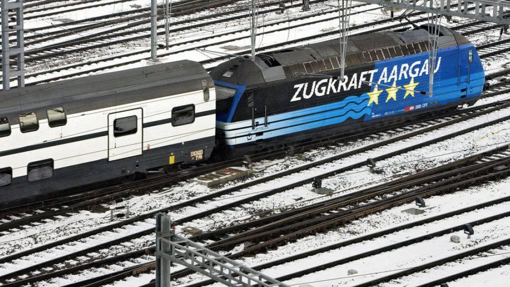 Zwischen Aarau und Zürich soll eine direktere SBB-Linie entstehen (Archivbild).