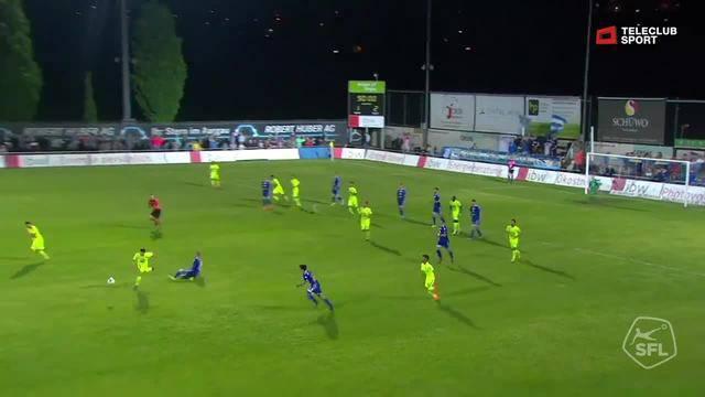 Challenge League, 2017/18, 32. Runde, FC Wohlen - FC Aarau, 1:3 Gianluca Frontino