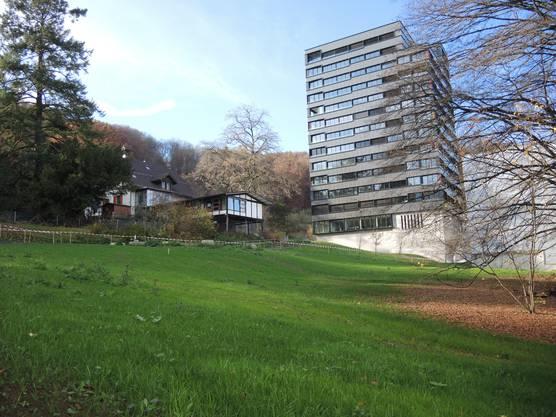 Der Martinsberggut-Park ist neu für alle Spaziergänger und Flaneure offen.