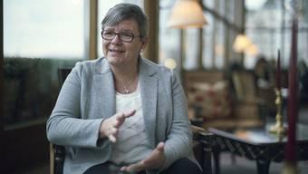 Zita Langenstein ist eine der wenigen Frauen, die den Butlerberuf ausüben.