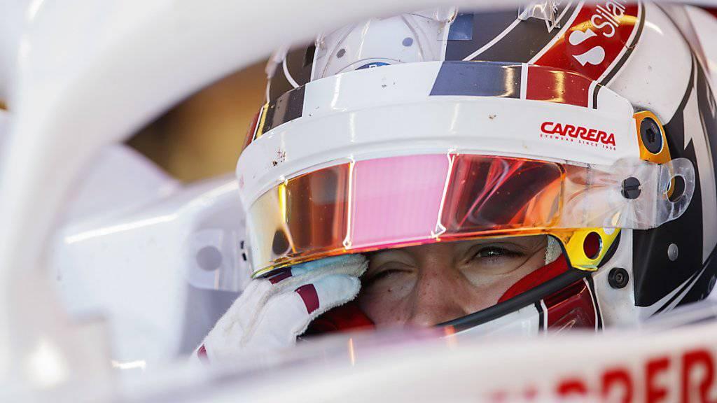 Charles Leclerc überzeugte im Alfa Romeo Sauber im ersten Training