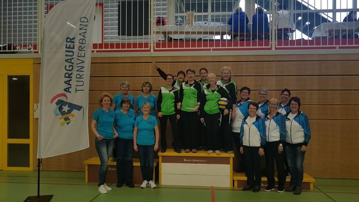 1. Platz STV Büttikon; 2. Platz STV Turgi; 3. Platz FTV Staffelbach