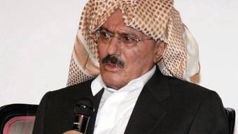 Saleh kündigte seinen Rücktritt an (Archiv)