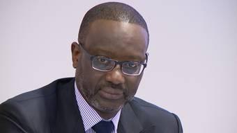 Mit Stolz und ein bisschen verletzt trat der CEO Tidjane Thiam beim letzten offiziellen Auftritt ans Rednerpult.