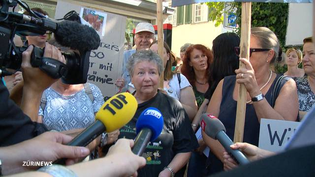 Demo und Schuldeingeständnis zur Tierquälerei im Thurgau