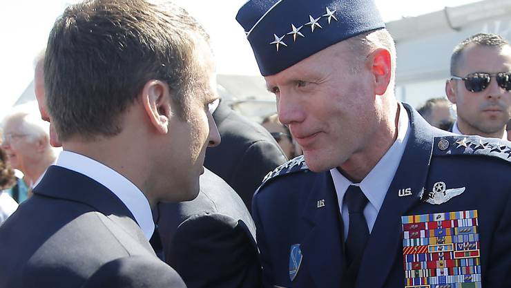 Der US-amerikanische Luftwaffengeneral Tod D. Wolters ist der neue Oberbefehlshaber der Nato. Er begann seine Militärkarriere als Kampfpilot. (Archivbild)