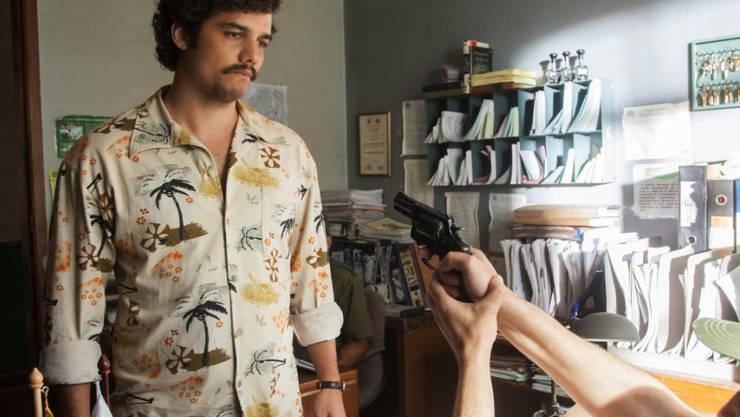 """Die Netflix-Eigenproduktion """"Narcos"""" kann neu auch heruntergeladen und anschliessend ohne Internetverbindung geschaut werden."""