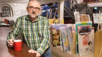 Peter-Lukas Meier, Verleger und Kunstvermittler, möchte sich inskünftig wieder vermehrt der Schreibfeder zuwenden.