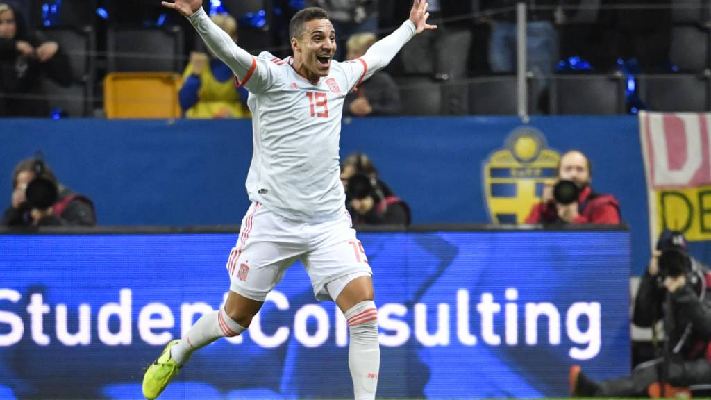 Spanien dank spätem Treffer für die EM qualifiziert