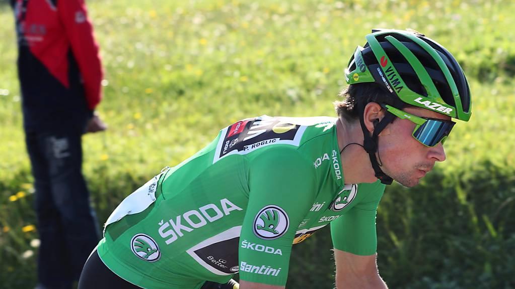 Bereits zum dritten Mal Etappensieger der diesjährigen Vuelta: Primoz Roglic.