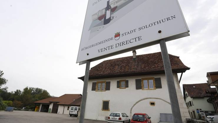 Das Trüelhaus der Domaine de Soleure in Le Landeron