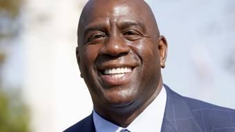Magic Johnson soll die Los Angeles Lakers wieder in die Erfolgsspur führen
