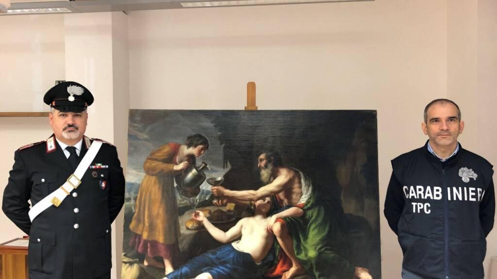 Italiens Polizei spürt von Nazis gestohlenes Gemälde auf